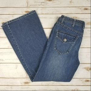 Tommy Hilfiger Hipster Loose Flare Fit Jean Size 8